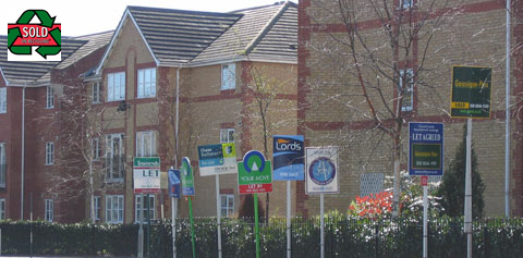 Countrywide Signs - Sold on Recycling